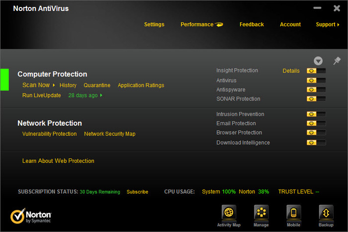 Norton Antivirus 2012 19.1.1