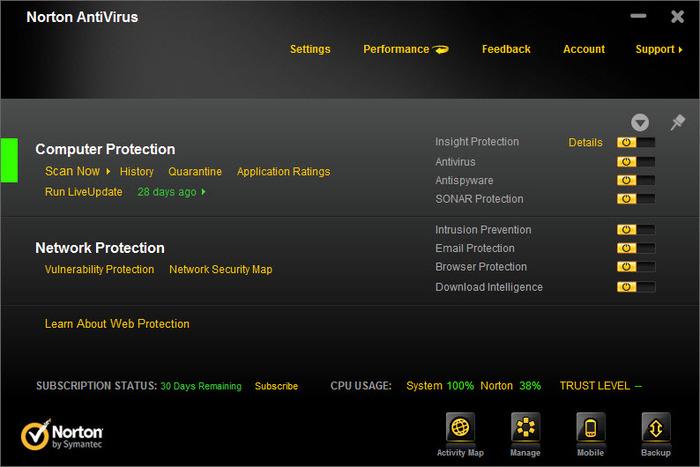 Norton Antivirus 2012 19.1.1